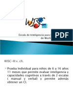 Clase WiscIII-1 Descripción Del Test