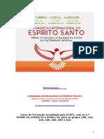 Programa GERAL CONGRESSO E SPÍRITO SANTO