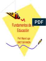 4 Naturaleza Funcion e Importancia Psicologia Educativa