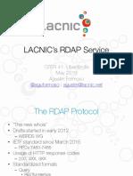 LACNICs RDAP Service
