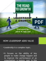 Leadership & Growth
