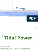 Ocean and Tidal Powers