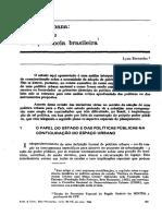 05 Lysua Bernardes - Política Urbana Uma Analise Da Experiencia Brasileira