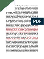 . Historia de La Psicofisiologia