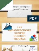 Liderazgo y Desempeño Supervisión Efectiva (1)