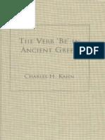 [Charles H. Kahn] the Verb 'Be' in Ancient Greek