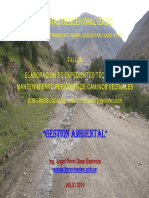 Gestion Ambiental Mantenimiento