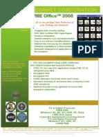 VME Office 2008 Productivity Suite