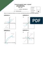 TA. Gráfica de Funciones Inversas Con Eje de Simetría