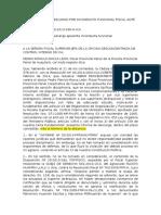 Modelo Informe Descargo