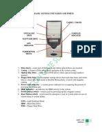 CSS Lecture 2 System Unit Parts & Ports