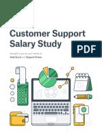 2016 Customer Support Salary Study
