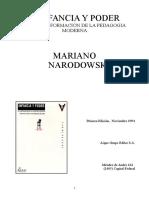 Narodowski_Infancia y Poder.doc