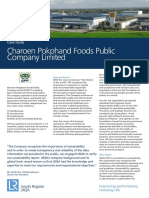 Charoen Pokphand Foods Case Study ID