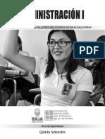 Administración I 2015-2