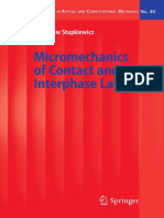Micromechanics of Contact and Interphase Layer