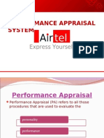Performance management system at Airtel