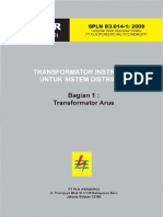 1.SPLN D3 014-1-2009 Transformator Arus 1