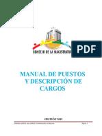 Manual de Puestos 2015