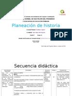 Planeación de Historia argumentada 1