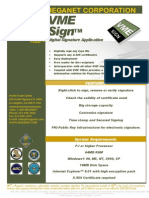 VME Sign - Digital Signatures Made Easy