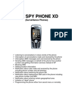 Vme Spy Phone XD - track and listen