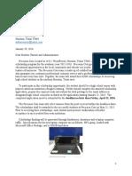 precision cuts scholarship letter