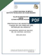 CAUSAS DE LA BAJA EN LOS PRECIOS DEL PETROLEO.docx