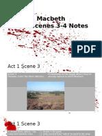 Macbeth Notes