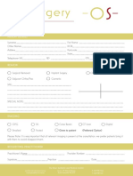 Oral Surgery Referral Form
