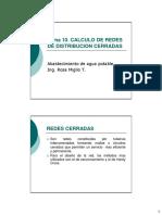 Calculo de Redes de Distribución Cerradas (1)