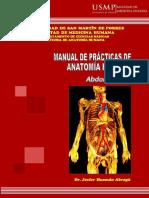 01 05 14 Manual de Practica de Anatomia - Abdomen