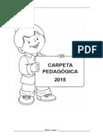 Carpeta Pedagogica Inicial 5 Años 2015