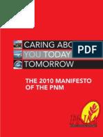 2010 PNM Manifesto
