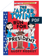 The Tapper Twins Run for President by Geoff Rodkey (Preview)