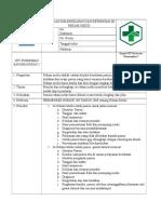 Spo Penilaian Kelengkapan Dan Ketepatan Isi Rekam Medis