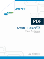 SmartPTT Enterprise 8.8 System Requirements