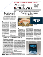 Le Monde Diplomatique - Mai 2016
