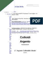 Argento Colloidale 10 Ppm 528 Hz