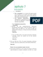 Ejercicios Propuestos - Factores Financieros