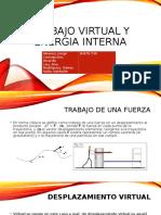 Trabajo Virtual y Energia Internam
