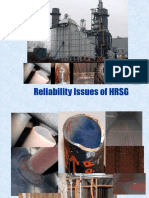 Reliability Issues With HRSG