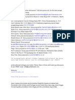 List Email Sponsor