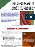 1. Introduccion a La Gestion de Proyectos