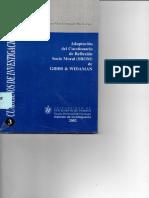 Adaptación Del Cuestionario de Reflexión Socio Moral (SROM) de Gibbs & Widaman - Grimaldo Muchotrigo, M. (Autor)