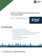 NIC 7 - Estados de Flujos de Efectivo