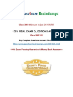 Pass4sure 300-101 Past Papers