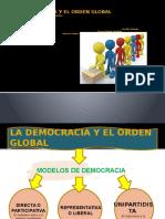 La Democracia y El Orden Global CARACTERISTICAS