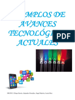 Ejemplos de Avances Tecnológicos Actuales