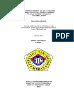 Laporan Kerja Praktek Kegiatan Pemboran Dalam Pembuatan Lubang Ledak